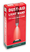 dust-aid platinum light wand sensor cleaner box
